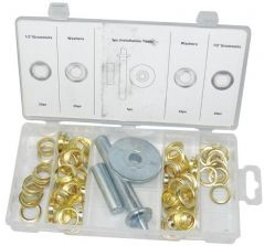 DURATOOL D01896  Tarpaulin Repair Kit 103Pc